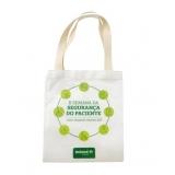 atacado de sacolas personalizadas de pano Rio do Sul
