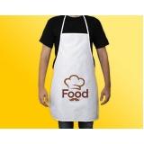 avental cozinha personalizado Baixo Guandu