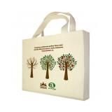 compra de sacola de algodão crú bolsa ecológica ecobag Brasília