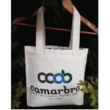 comprar sacola ecobag algodão Campinas do Sul