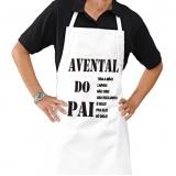 onde compro avental cozinha personalizado Vila Élvio