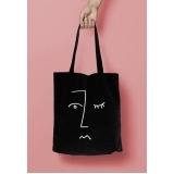 onde compro sacolas personalizadas de pano para loja Joinville