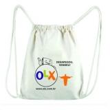 onde compro sacolas personalizadas pano para lojas Salinas