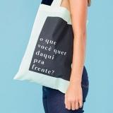 orçamento de sacolas personalizadas em tecido Colatina