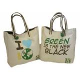 sacola de algodão crú bolsa ecológica ecobag Barra de São Francisco
