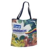 sacola personalizada de pano Copacabana