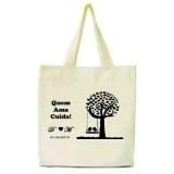 sacolas ecológicas personalizadas algodão crú Xaxim