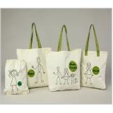sacolas personalizadas de algodão Nova Friburgo