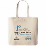 sacolas personalizadas de pano para loja orçamento Uberaba