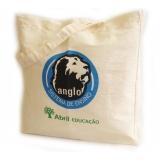 sacolas personalizadas tecido Santo Antônio Paulista