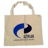 venda de sacolas de algodão personalizadas São Leopoldo