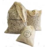 venda de sacolas personalizadas de algodão  Tramandaí